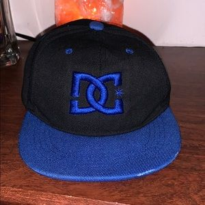 Kids hat with DC logo